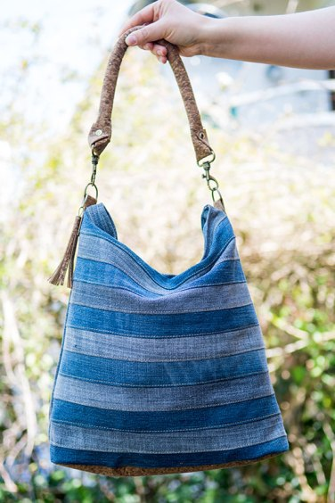 "Upcycling Tasche ""Chobe"" von Ellepuls.com"